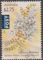 AUSTRALIA - USED 2016 $2.75 90th Birthday Queen Elizabeth II - Diamond Brooch - 2010-... Elizabeth II