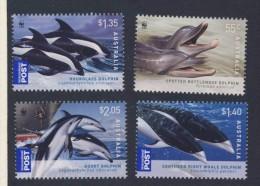 AUSTRALIE 2009  DAUPHINS-WWF YVERT N°3079/82  NEUF MNH** - W.W.F.