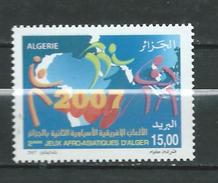 Algerie Algeria 2007 The 2nd Anniversary Of The Afro-Asiatic Games, Algiers.sport.** MNH - Algeria (1962-...)