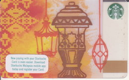 Malaysia Starbucks Card Ramadan Eid Mubarak -  2017-6138 - Gift Cards