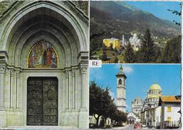 PIEMONTE - RE - VALLE VIGEZZO - SANTUARIO - VIAGGIATA 1965 - AFFRANCATURA MISTA - Other Cities