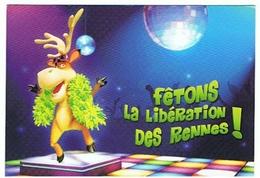 FETONS LA LIBERATION DES RENNES LE 10 JUIN 2007 LA CHAMPAGNE S OFFRE LA FRANCE A GRANE VITESSE TGV  LOT DE 3 CARTES - Champagne-Ardenne