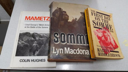 3 Books : Battle Of The Somme 1916 - War 1914-18