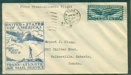 U S A . 1er VOL1939 PM 18 TRANS-ATLANTIC : N.Y. Le 20.5 Arrivé Marseille Le 22.5.affr Pa Us N° 25 Tb - 1c. 1918-1940 Cartas