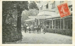 75 PARIS 16. Bois De Boulogne Attelage Au Pavillon Armenonville 1912 - Arrondissement: 16