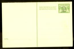 DUBBELE BRIEFKAART Voordruk 3 Cent + Opdruk 2 * MET BETAALD ANTWOORD * ONGEBRUIKT (10.634p) - Postal Stationery