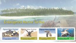 Papua New Guinea SG 1164 MS 2007 Marine Turtles MS MNH - Papua New Guinea
