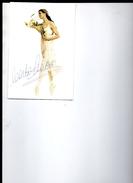 CARLA  FRACCI  , Ballerina , Danza  ,  Autografo - Danza