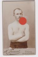 Boxe Lutte Photo Francart  Chênée  Vers 1900 - Sports