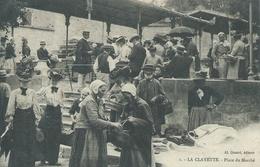 71Saône Et Loire, La CLAYETTE 2712 Habitants,Place Du Marché,animations, Scan Recto-Verso - France