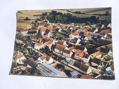 CPSM 89 - YONNE - COURGENAY VUE GÉNÉRALE AÉRIENNE - Brienon Sur Armancon