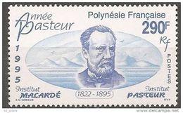 "Polynésie YT 481 "" Louis Pasteur "" 1995 Neuf** - Nuevos"