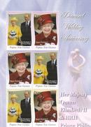 Papua New Guinea SG 1200-1205 2007 Diamond Wedding Annuversary Sheetlet MNH - Papua New Guinea