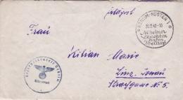 Feldpost WW2: Reserve Lazarett Neiheim P/m Neiheim-Hüsten 20.2.1942 - Letter Inside  (T1-18) - Militaria