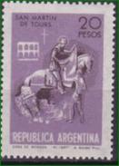 Argentinien. 1973 St.Martin De Tours Mi: 1162** - Christianisme