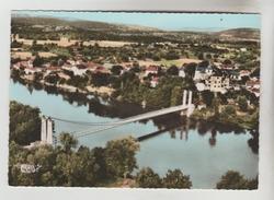 CPSM MEYRONNE LA JOLIE (Lot) - Vue Générale Aérienne : Le Pont Sur La Dordogne - France
