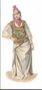 Personage  Chromos Ancien Costume Folklorique - Découpis