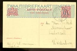 HANDGESCHREVEN BRIEFKAART * Gelopen In 1926 Van AMERONGEN Naar WURTEMBERG (10.635d) - Postwaardestukken