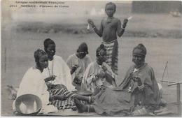 CPA SOUDAN Colonies Françaises Afrique Noire Ethnic Non Circulé FORTIER Métier Coton - Soudan