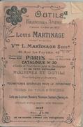 Catalogue No 30 Machines Outils Martinage 42 Rue Lafayette - District 09