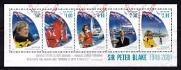 New Zealand 2001 Sir Peter Blake Minisheet Used - New Zealand