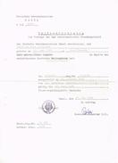 Passbescheinigung - Deutsches Generalkonsulat BASEL - 1968 - Vieux Papiers