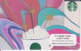 Singapore Starbucks Card Celebration 2015-0412 - Gift Cards