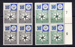 Europa Cept 1957 Netherlands 2v Bl Of 4 ** Mnh (36098D) - Europa-CEPT