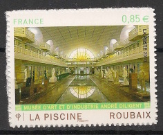 France - 2010 - N°Yv. A467 - Piscine De Roubaix - Autocollant - Neuf Luxe ** / MNH / Postfrisch - France