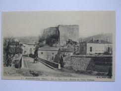 FRANCE - Francheville - Sur Pont Neuf - Ruines Du Vieux Chateau - France