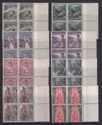 Andorra Española 1959. Serie Basica Bloque De 4. Ed 60 / 67. MNH. **. - Spanisch Andorra