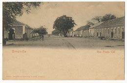 Benguella Rua Paula Cid Edit Osorio Delgado Et Bandeira Loanda Ligne Tram - Angola