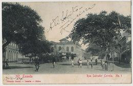 312 Loanda Rua Salvador Correia No 1 Edit Osorio Circulada - Angola