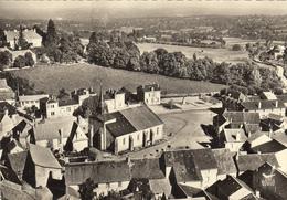 SAINTE FEYRE (23)  PLACE DE L'EGLISE,LE CHATEAU - France