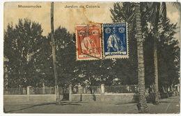 Mossamedes Jardim Da Colonia Stamped To Santa Clara Cuba - Angola