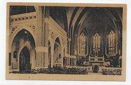 (RECTO / VERSO) BAPAUME EN 1949 - INTERIEUR DE L' EGLISE - FORMAT CPA VOYAGEE - Bapaume