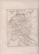 CARTES POUR SERVIR A L'HISTOIRE DE L'EMPIRE D' ALLEMAGNE DRESSEES PAR L DUSSIEUX EN 1854 - 911 à 1024 / 1024 à 1138 - Landkarten