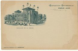 Pavillon De La Perse Exposition Universelle De Paris 1900 Pionniere Pub La Benedictine - Iran