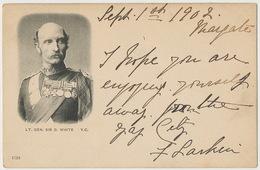 Sir G. White Commander Of Quetta Burma  Born Portstewart Northern Ireland Kandahar Afghan War Boer War Ladysmith 1902 - Myanmar (Burma)