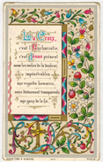 RABASTENS Année 1893 LAPEYRE Marie IMAGE PIEUSE GENEALOGIE HOLY CARD SANTINI CHROMO HEILIG PRENTJE KAHN ZABERN - Images Religieuses