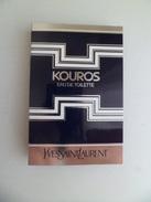 Tigette Ou Tube De Parfum De Collection Echantillon 2 Ml -  Yves Saint Laurent YSL KOUROS Eau De Toilette - Miniatures Hommes (avec Boite)
