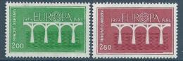"Andorre YT 329 & 330 ""  Europa "" 1984 Neuf** - French Andorra"