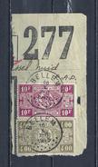 Fragment Met Stempel BELLEM 18 X 7-8 1945 - 1923-1941