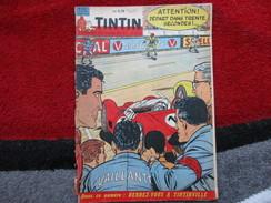"""Tintin  """"Le Journal Des Jeunes De 7 à 77 Ans""""  (N° 662 / 29 Juin 1961) - Livres, BD, Revues"""