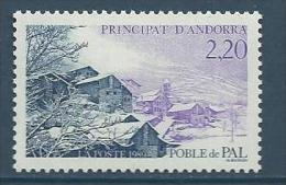 "Andorre YT 377 "" Village De Pal "" 1989 Neuf** - French Andorra"
