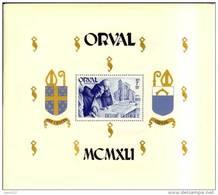 Bloc 11+12 ** MNH Orval Moines Monniken - Bloc Dent Et Non Dent - Blocchi 1924 – 1960