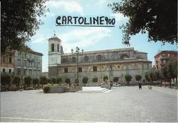 Lazio-roma-albano Laziale Piazza Sabatini Veduta Piazza E Cattedrale - Italia
