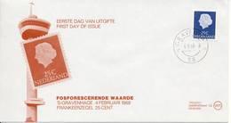 Philato FDC W11 - Blanco (CW = € 15,-) - FDC
