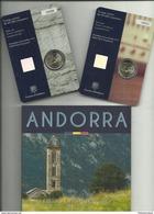 ANDORRA EUROS 2016  GASTOS DE ENVÍO + SEGURO, ESPAÑA 7,80€  OTROS PAISES COMUNIDAD  EUROPEA 12,68€ - Andorre