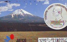 Télécarte Japon * Pièce De Monnaie (152) Money * Coin Munten Munzen * Geld * PHONECARD JAPAN * TELEFONKARTE - Timbres & Monnaies